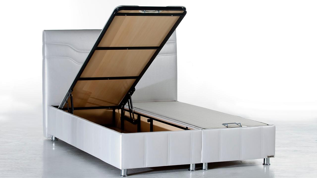 Ferro Seng Med Opbevaring 140x200 Cm Basic Furniture Aps