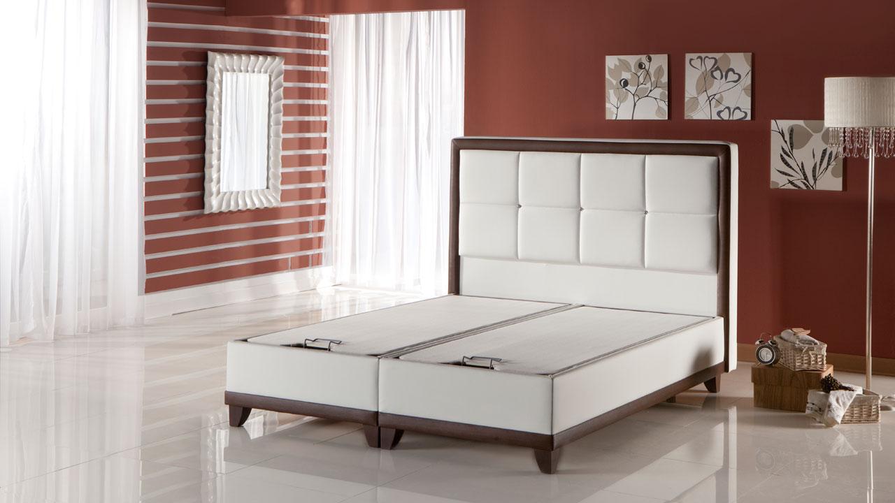 Class Seng Med Opbevaring 140x200 Cm Basic Furniture Aps