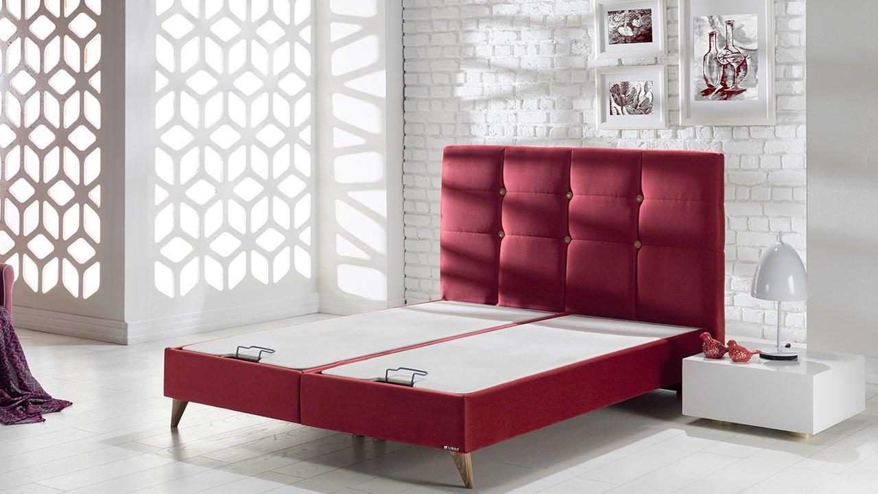 Lima Seng Med Opbevaring 120x200 Cm Basic Furniture Aps