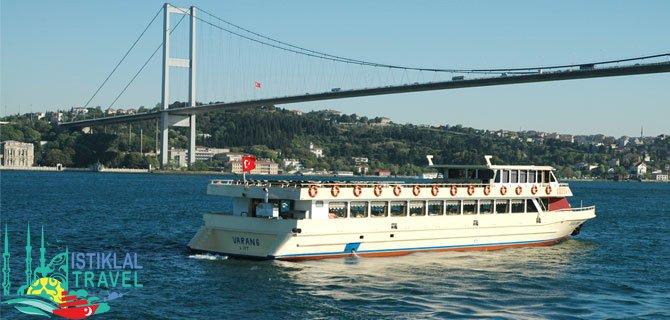 مضيق البوسفور تركيا اسطنبول