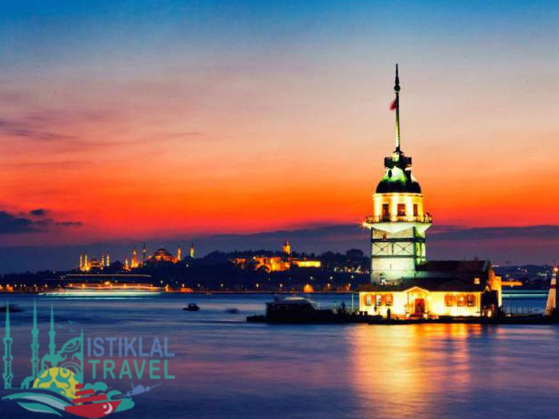 برنامج سياحي تركيا برج البنت