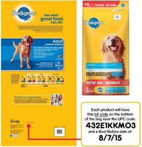 pedigree dog food recall expanded