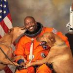 Official Portrait of Astronaut Leland Melvin Is Best in NASA History