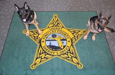 in dog we trust rug