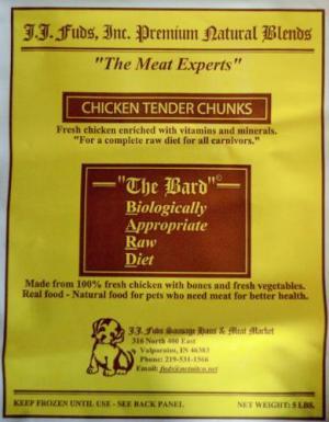 j.j. fuds chicken tender chunks recall