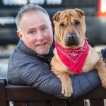Dog Dumped with Suitcase at Train Station Has New Forever Home