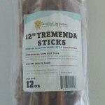 RECALL ALERT: The Natural Dog Company Tremenda Sticks