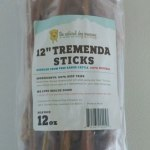 RECALL ALERT: The Natural Dog Company Tremenda Sticks