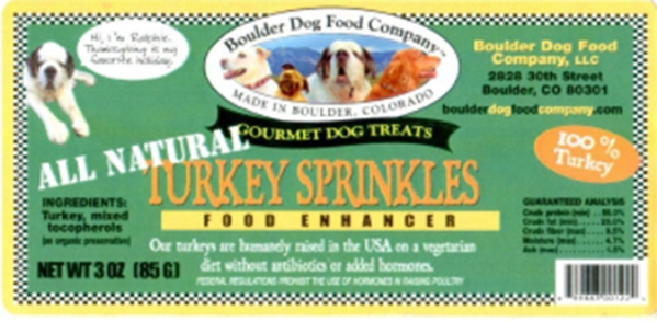 Turkey Sprinkles Food Enhancer recall