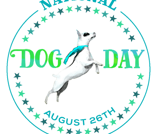 National Dog Day logo