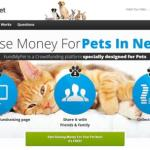 FundMyPet: The First Crowdfunding Site Exclusively for Pets in Need