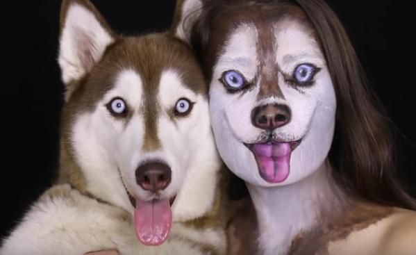 Ilana makeup looks like husky