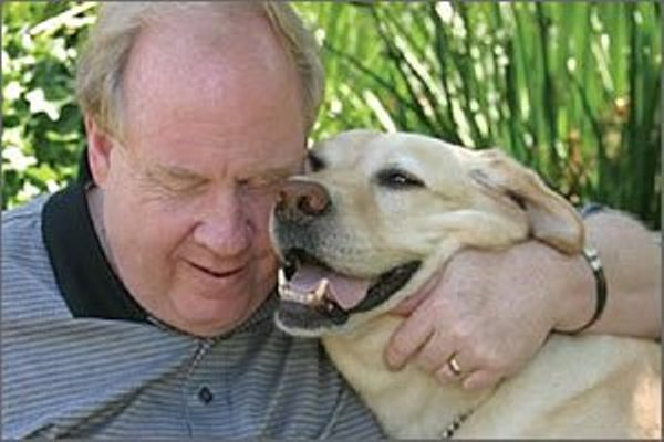 guide dog led blind man 9/11
