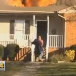 Mystery Hero Saves Dog from Tennessee House Fire [Video]