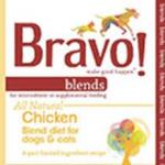RECALL ALERT: Bravo Blends Chicken Diet for Dogs & Cats