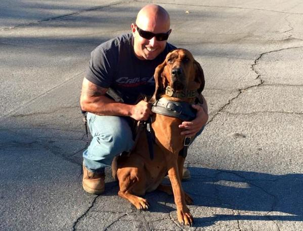 k-9 officer deja saved kidnapped girl