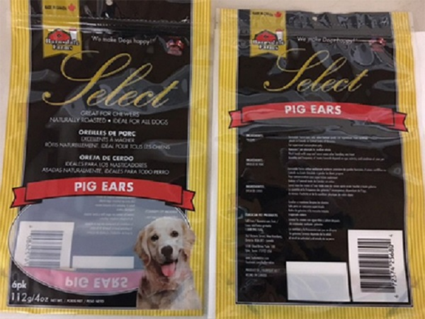 Barnsdale Farms Select Pig's Ears Recall