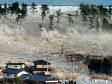 Цунами, обрушившееся на побережье Японии в 2011 году