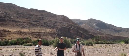 Осадочные формации во внутренних районах Марокко, которые простираются на многие километры и имеют высоту в сотни метров