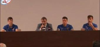 VIDEO: Presentazione Paolucci, Djordjevic e Martinez. E Lo Monaco sul mercato e la penalità…