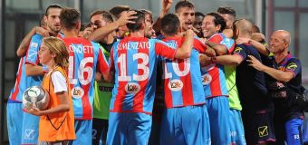 Catania: l'importante è segnare la prima rete