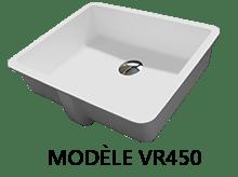 Modèle VR 450 : vasques aux normes PMR