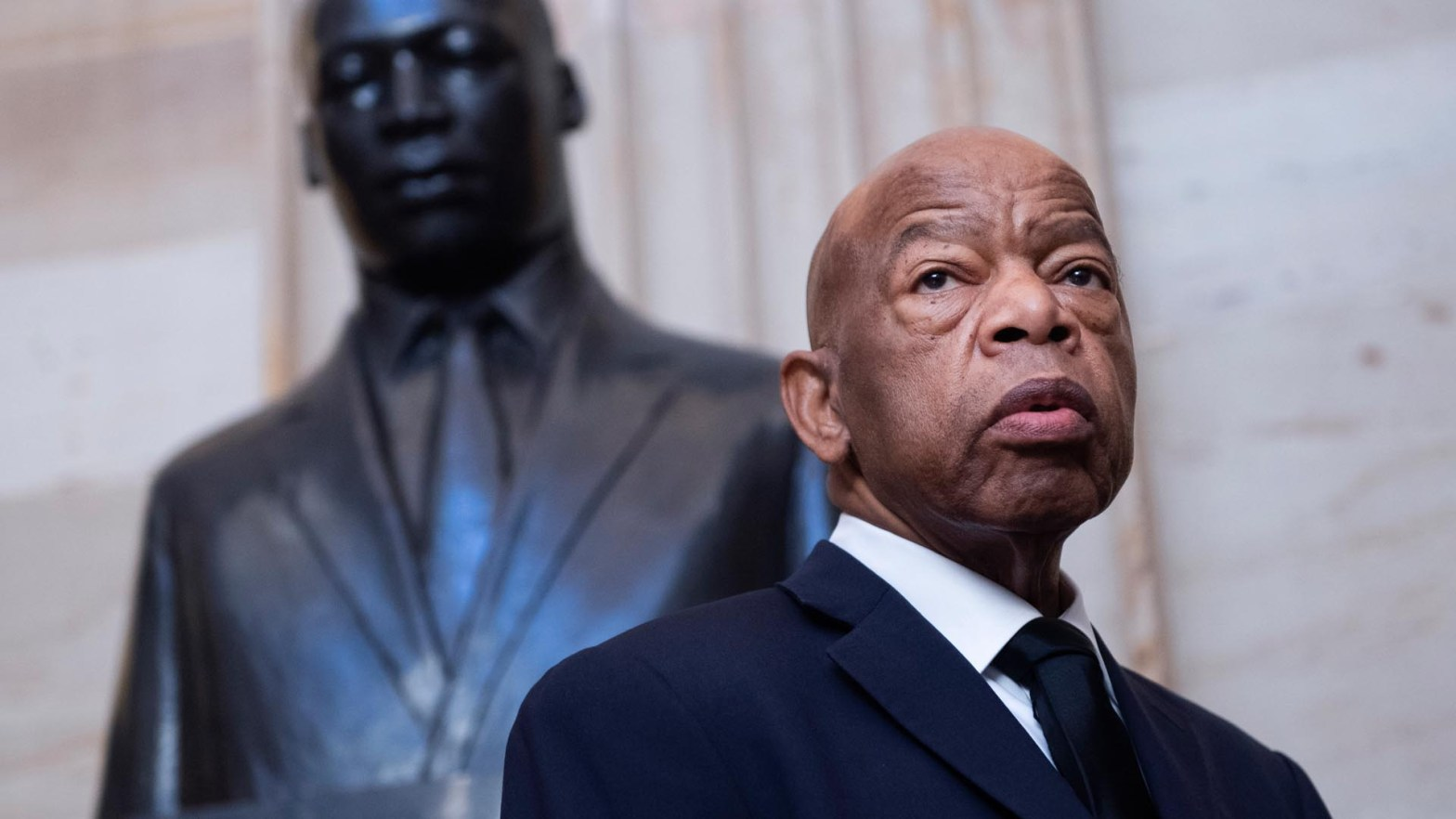 john lewis che marciò con Martin Luther King