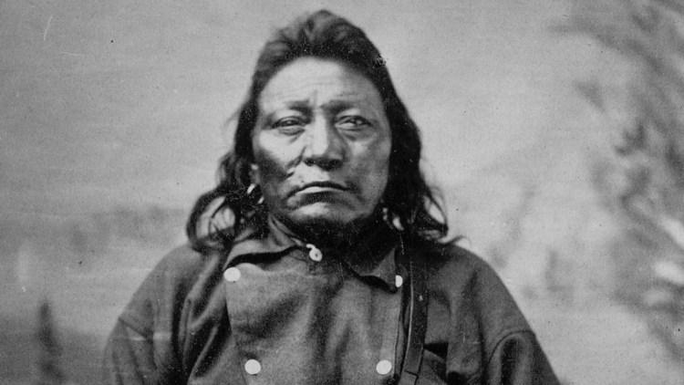 Il condottiero Sioux Cavallo Pazzo