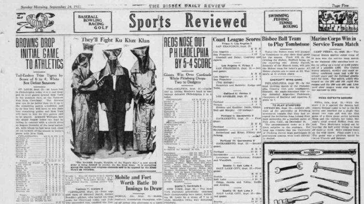 I Knights of the Invisible Jungle sul giornale di Buffalo