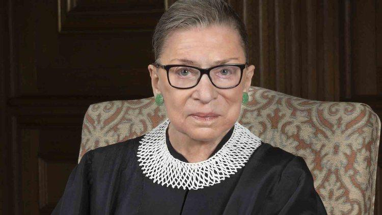 La giudice Ruth Bader Ginsburg