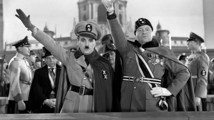 Il grande dittatore Adenoid Hynkel e Bonito Napoloni