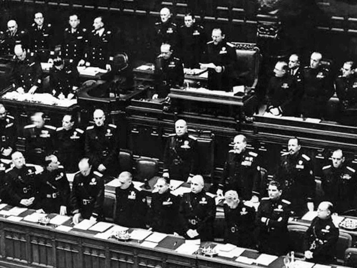 discorso di Mussolini
