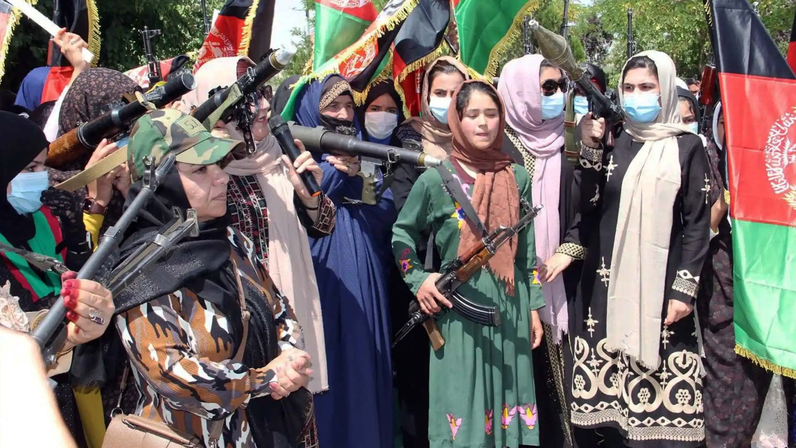 Le donne afghane