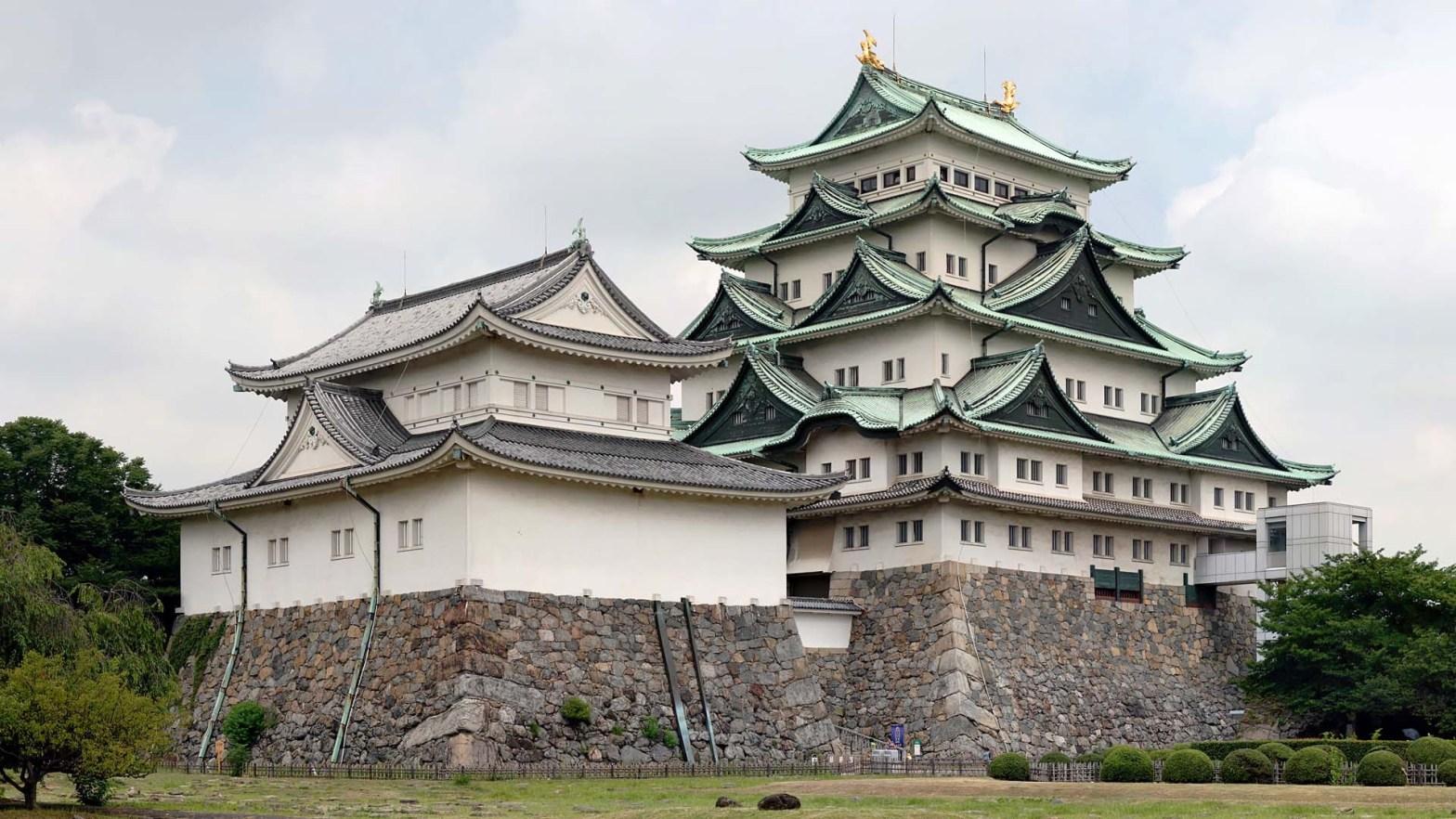 Il Castello di Nagoya in Giappone