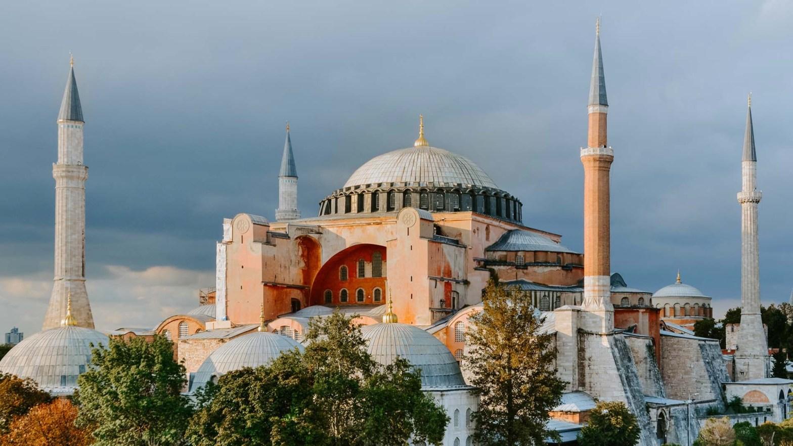 Haghia Sophia (o Santa Sofia) a Istanbul, in Turchia