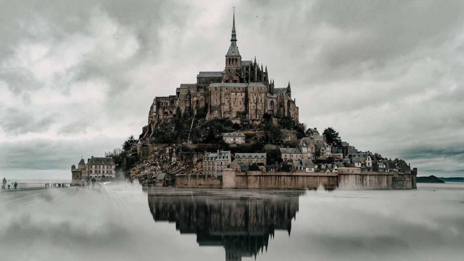 Mont Saint-Michel in Francia