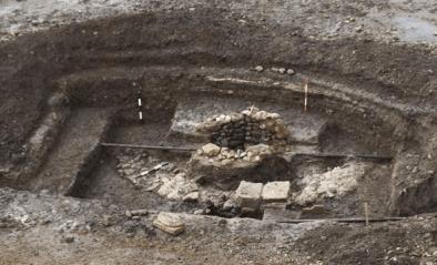 Ruinele bisericii de la Alba Iulia