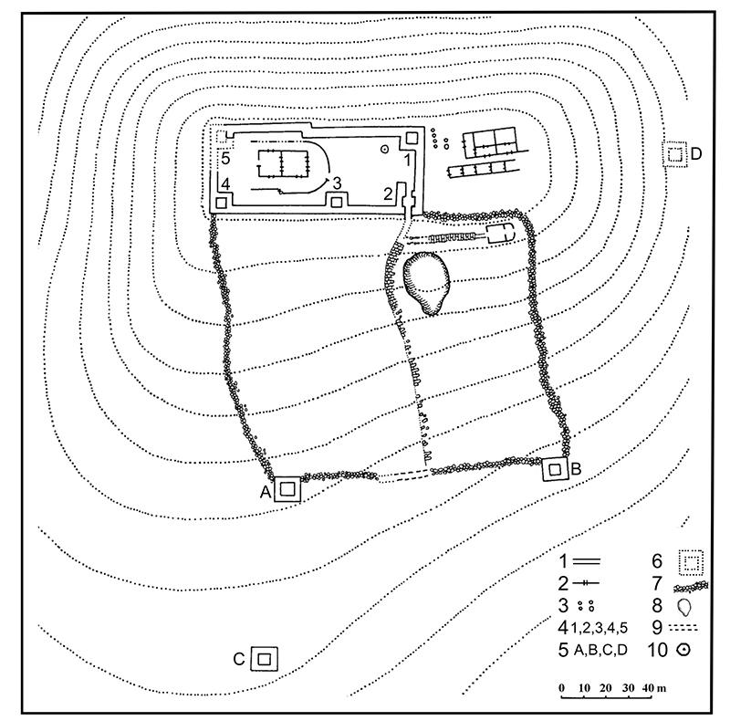 planul-cetatii-glodariu