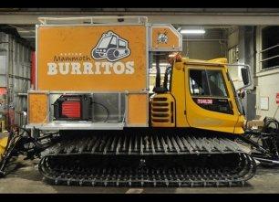 Se um food truck não pode chegar a qualquer lugar, esse não é o problema para o Mammouth Mountain