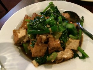Kailan Tofu
