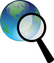 earth-and-magnify-glass-300px