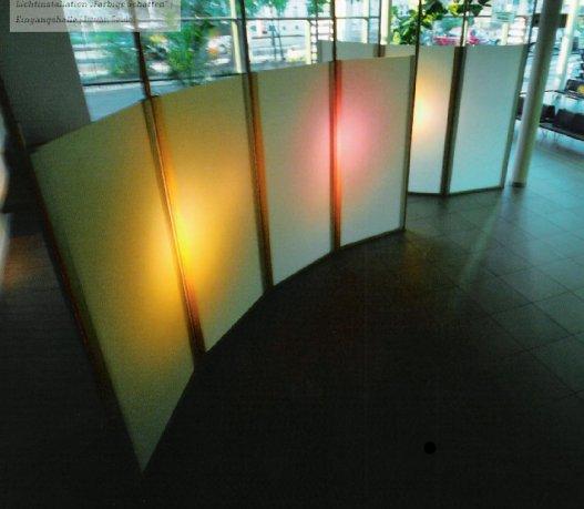 Ansicht der Schattenwandpanele