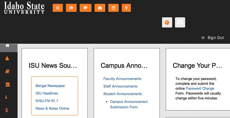 idaho state university bengal web