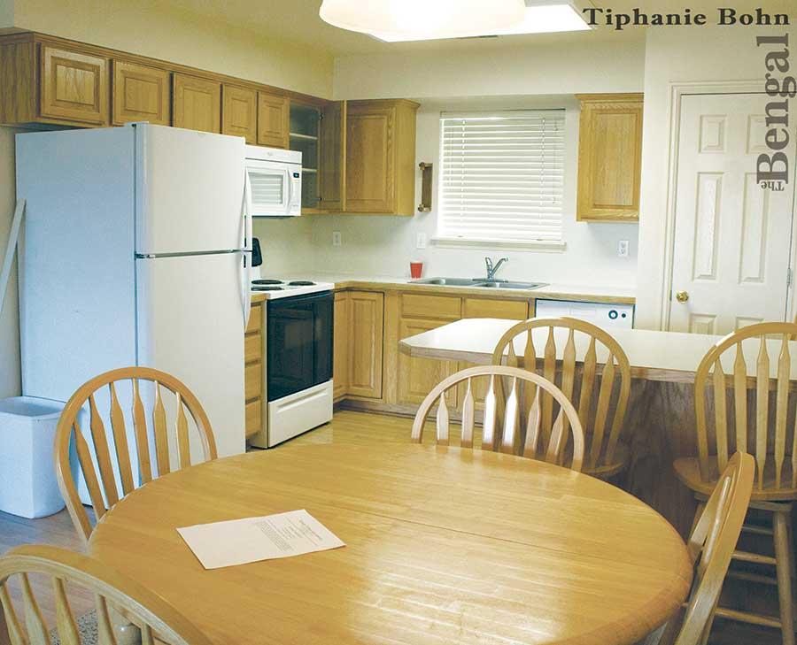 Hillside Apartments Kitchen