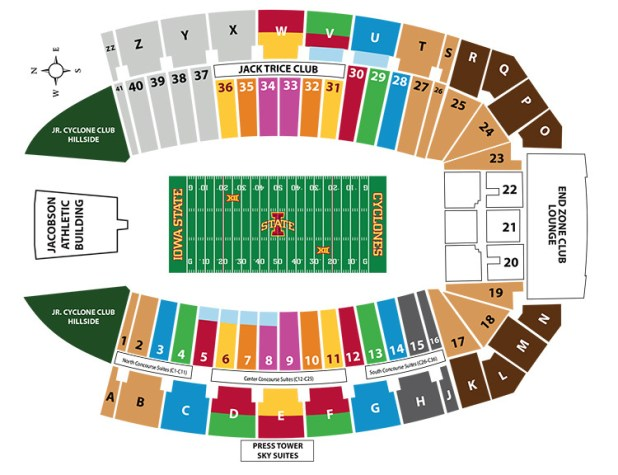 Picked By Us) Stanford football stadium parking map