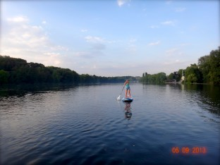 Stand Up Paddling Baldenesee