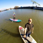 Stand UP Paddling Industrie Tour