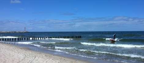 Wellenreiten Ostsee