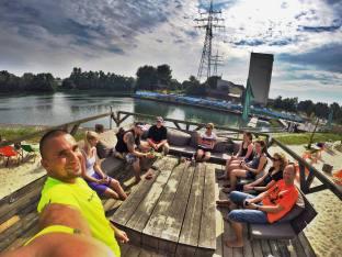 Nach dem Stand Up Paddling etwas entspannen Stadthafen Recklinghausen