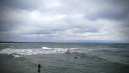 Auf Rügen gibt´s nette Wellen